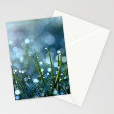 Fairy Drops Aqua Blue Stationery Cards
