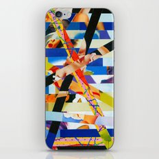 January (stripes 6) iPhone & iPod Skin