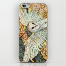 The Playground _ Raven, Owl, Chickadee iPhone Skin