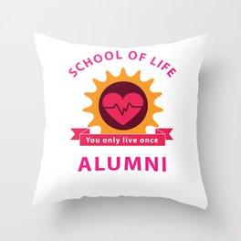School of Life Throw Pillow