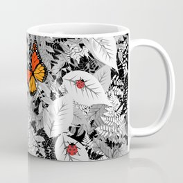 Bugs and foliage Coffee Mug