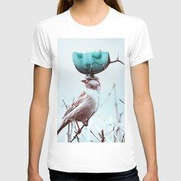 AquaNest - Julien Tabet - Photoshop Artwork T-shirt