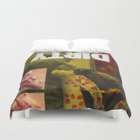 dirty dancing Duvet Covers featuring Dirty by Molly Halligan
