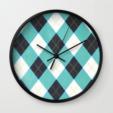 Argyle Wall Clock