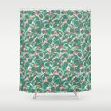 Tropical Frogs in the Jungle - Cream by tinytenacious