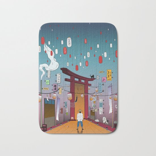 Lost in Time Bath Mat