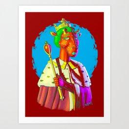 Queen Of What? Art Print