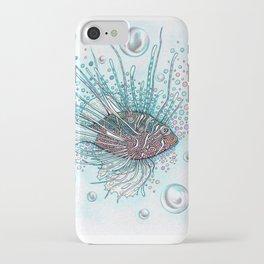 Pez Escorpión iPhone Case