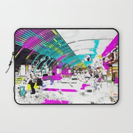 Late Nite Shopping Laptop Sleeve