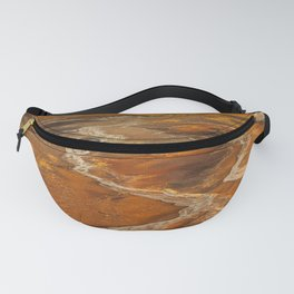 Painted Desert landscape at Petrified Forest National Park Fanny Pack