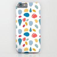 collage bits pattern iPhone 6s Slim Case