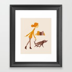 DUMBO Morning  Framed Art Print