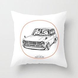 Crazy Car Art 0198 Throw Pillow