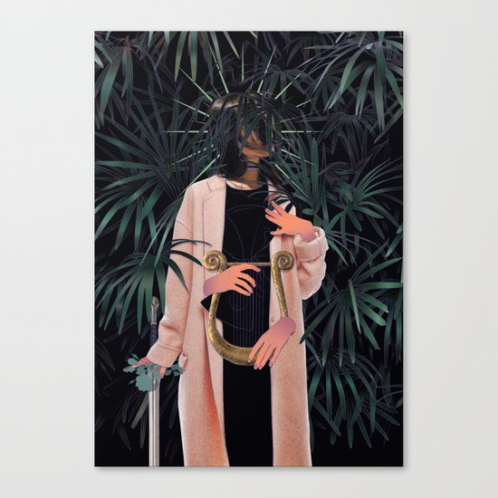 Cecilia (LE, 4 of 10 prints left) Canvas Print