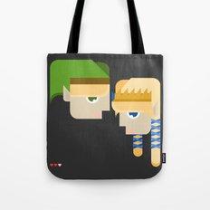 princess zelda and link Tote Bag