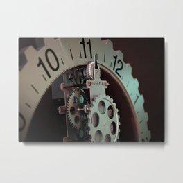 vintage clock_27 Metal Print