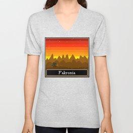 Fakronia- Post Heist Unisex V-Neck