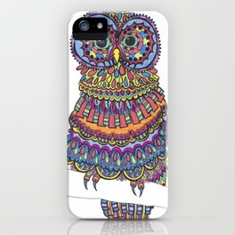 Patterned Owl iPhone Case