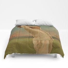 Vintage Backyard Baseball Player - Ames NY Comforters