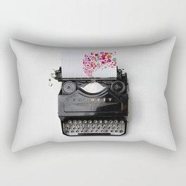 Typing Joy Rectangular Pillow