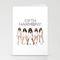 fifth harmony Stationery Cards featuring Fifth Harmony - signatures by xamjx3