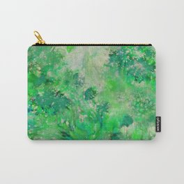 Peacefull Green Carry-All Pouch
