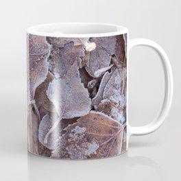 Fallen Oak Leaves Autumn Scene #decor #society6 #buyart Coffee Mug