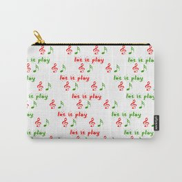 Let it play... Christmas music - Christmas Series Carry-All Pouch