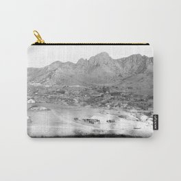 Pima County, Arizona. 1909 Carry-All Pouch