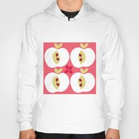 apple Hoodies featuring apple by ottomanbrim
