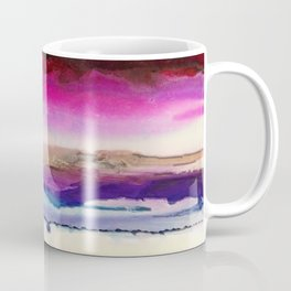 The Sun Sets and Rises Again (an Abstract of Hope) Coffee Mug