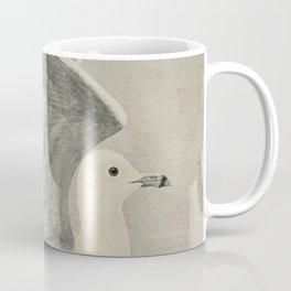 Vintage Illustration of a Seagull (1902) Coffee Mug