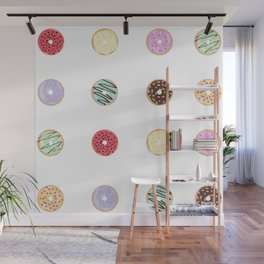 Donut Worry Wall Mural