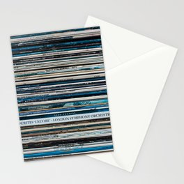 Old Vinyl Stationery Cards