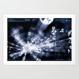Daydreams Like Mainframes 007: Biodustrial Art Print