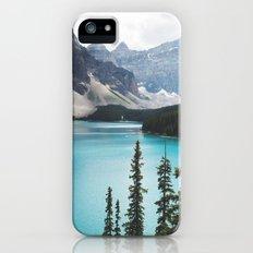 •lake moraine • iPhone (5, 5s) Slim Case