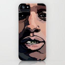 ASAP ROCKY---ARTWORK iPhone Case