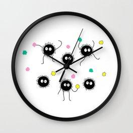 Soot Sprites / Spirited Away Wall Clock