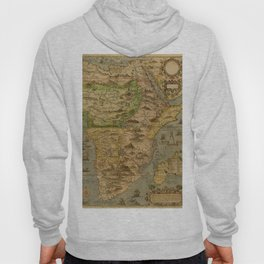 Map Of Africa 1597 Hoody