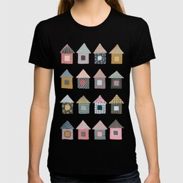 Patterned Houses T-shirt