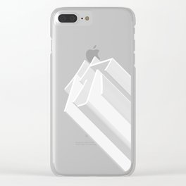 you minimalism Clear iPhone Case