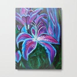 Stargazer Lily Metal Print