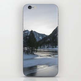 Snowy mountains iPhone Skin