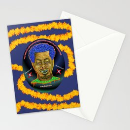 The French Face of Money Stationery Cards