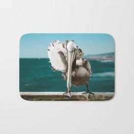 Pelican Says Hi Bath Mat