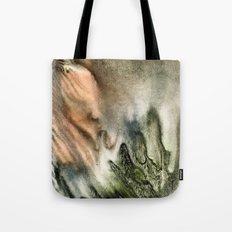 watercolor monotype Tote Bag