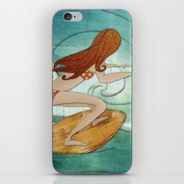 Life is a wave. iPhone Skin