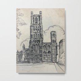 Ely Cathedral Metal Print