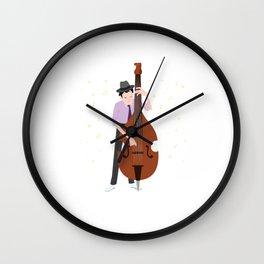 Jazz Musician Jazz Band Lover Wall Clock
