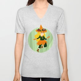 The Little Witch Unisex V-Neck